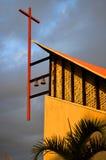 De kerk van Callaosalvaje in Adeje Stock Afbeeldingen
