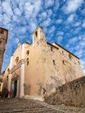 De kerk van Calvi Stock Foto