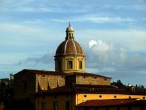 De kerk van Cestello in Florence Stock Afbeeldingen