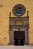 De kerk van Cholula stock afbeeldingen