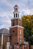 De Kerk van Christus, in Alexandri?, Virginia stock foto