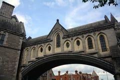De Kerk van Christus, Dublin, Ierland stock foto's