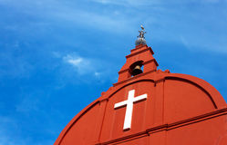 De kerk van Christus, Malacca, Maleisië Stock Fotografie