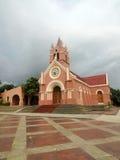 De Kerk van Colombia van Puerto Stock Foto