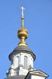 De Kerk van Cosma en Damian op Maroseyka-straat, Moskou royalty-vrije stock foto's