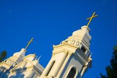 De Kerk van Costa Rica in Alajuela royalty-vrije stock afbeelding
