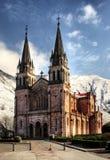 De kerk van Covadonga Royalty-vrije Stock Afbeelding