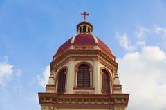 De Kerk van Cruz van de kerstman Stock Fotografie