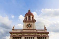 De Kerk van Cruz van de kerstman Royalty-vrije Stock Afbeeldingen