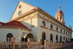 De Kerk van Cruz van de kerstman Stock Foto