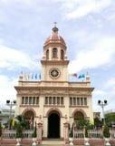 De Kerk van Cruz van de kerstman royalty-vrije stock afbeelding