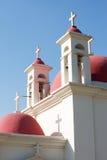 De kerk van de 12 apostelen Stock Afbeeldingen