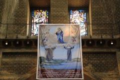 De Kerk van de Aankondiging royalty-vrije stock afbeelding