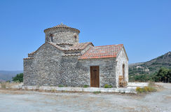 De Kerk van de Aartsengel Michael, Lefkara Royalty-vrije Stock Fotografie