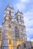 De kerk van de Abdij van Westminster Stock Afbeeldingen