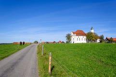 De Kerk van de bedevaart van Wies royalty-vrije stock afbeeldingen