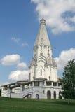 De Kerk van de Beklimming (1532) in Kolomenskoye, Moskou Royalty-vrije Stock Foto's