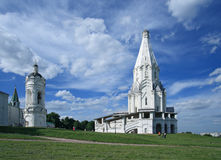 De Kerk van de Beklimming (1532), Kolomenskoye, Moskou, Rusland Royalty-vrije Stock Afbeeldingen
