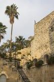 De Kerk van de binnenplaats van St. John Doopsgezind Royalty-vrije Stock Fotografie