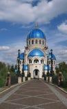 De kerk van de Heilige Drievuldigheid royalty-vrije stock afbeelding