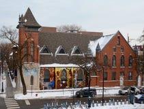 De Kerk van de Hoyovereenkomst Royalty-vrije Stock Fotografie