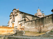 De kerk van de jezuïet in Alta Gracia Stock Afbeeldingen