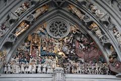De Kerk van de kathedraal; Bern; Zwitserland royalty-vrije stock fotografie