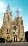 De Kerk van de kathedraal van Indonesië Royalty-vrije Stock Foto's