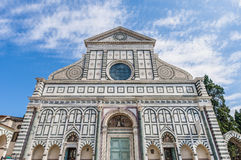 De kerk van de Korte roman van Santa Maria in Florence, Italië stock fotografie
