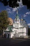 De Kerk van de mirre-dragende vrouwen in de Hogere stad Stock Afbeelding