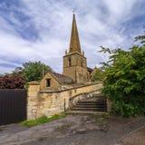 De kerk van de parochie Stock Foto's