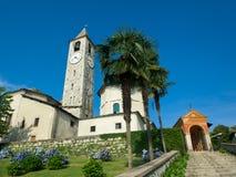 De Kerk van de Parochie van Baveno Royalty-vrije Stock Afbeeldingen