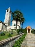De Kerk van de Parochie van Baveno Royalty-vrije Stock Fotografie