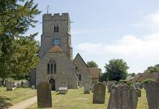 De Kerk van de parochie van St Mary en Alle Heiligen Royalty-vrije Stock Afbeelding