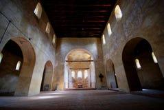 De kerk van de romanesque-stijl Stock Fotografie