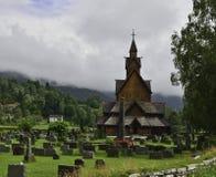 De Kerk van de Staaf van Heddal royalty-vrije stock foto's
