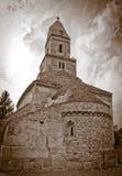 De kerk van de steen Stock Afbeeldingen
