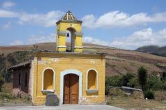De Kerk van de steen dichtbij Cotacachi Stock Afbeeldingen
