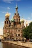 De kerk van de Verlosser op Gemorst Bloed Royalty-vrije Stock Fotografie