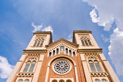 De Kerk van de veronderstelling van Christus Stock Fotografie