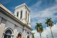 De Kerk van de Veronderstelling werd opgericht in 1786, wordt het gevestigd in Farquhar-Straat, George Town Stock Foto's