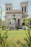 De Kerk van de Veronderstelling werd opgericht in 1786, wordt het gevestigd in Farquhar-Straat, George Town Stock Afbeelding