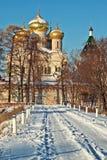 De Kerk van de winter Royalty-vrije Stock Foto