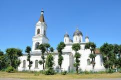 De Kerk van de Witte Drievuldigheid in Tver, 16de eeuw stock fotografie