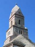 De Kerk van Densus - Roemenië Stock Foto's