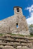 De kerk van Di sopra stock afbeeldingen