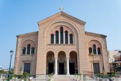 De Kerk van Dionysios van agio's, Zakynthos Stock Foto's
