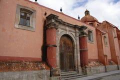De kerk van Dolores Hidalgo Stock Afbeelding