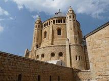 De Kerk van Dormition, Jrusalem Stock Fotografie
