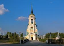 De Kerk van Dormition in Voronezh, Rusland Royalty-vrije Stock Afbeeldingen